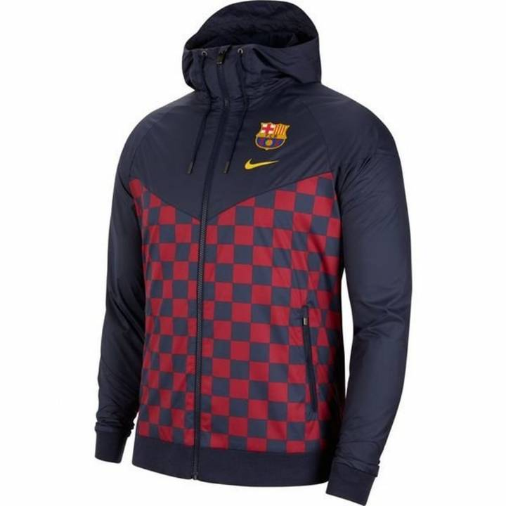 Nike Barcelona Authentic Windrunner Jacket 2019/20 - Navy - Mens Image