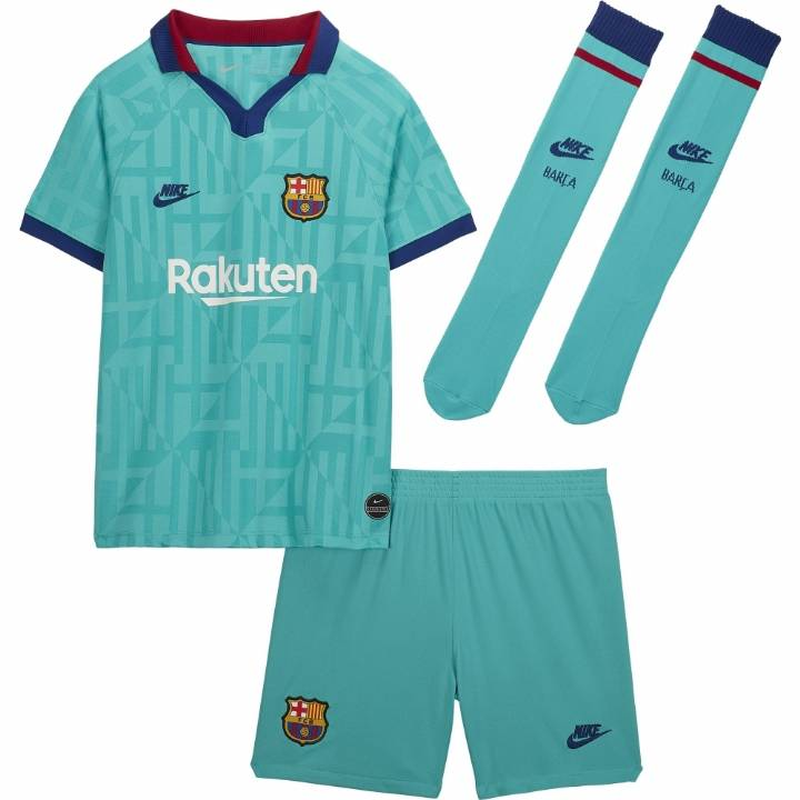 Nike Barcelona Third Kit 2019/20 - Little Kids Image