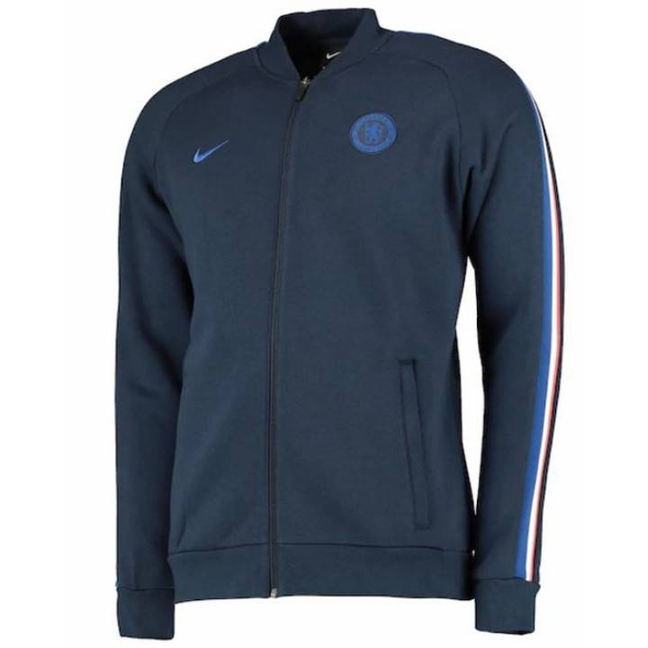 Nike Chelsea Fleece Track Jacket 2019/20 - Navy - Mens Image