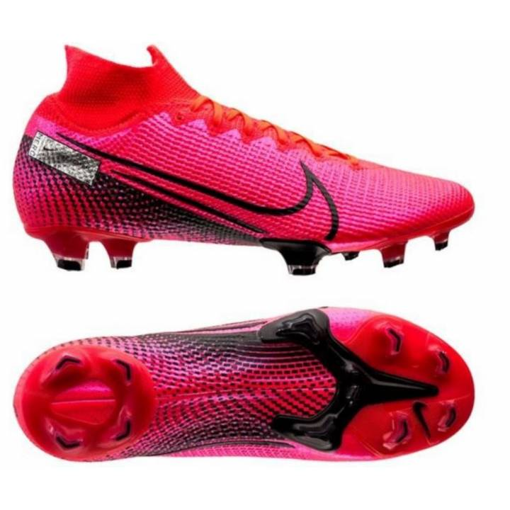 Nike Superfly 7 Elite Firm Ground Football Boots - Laser Crimson/Black Image