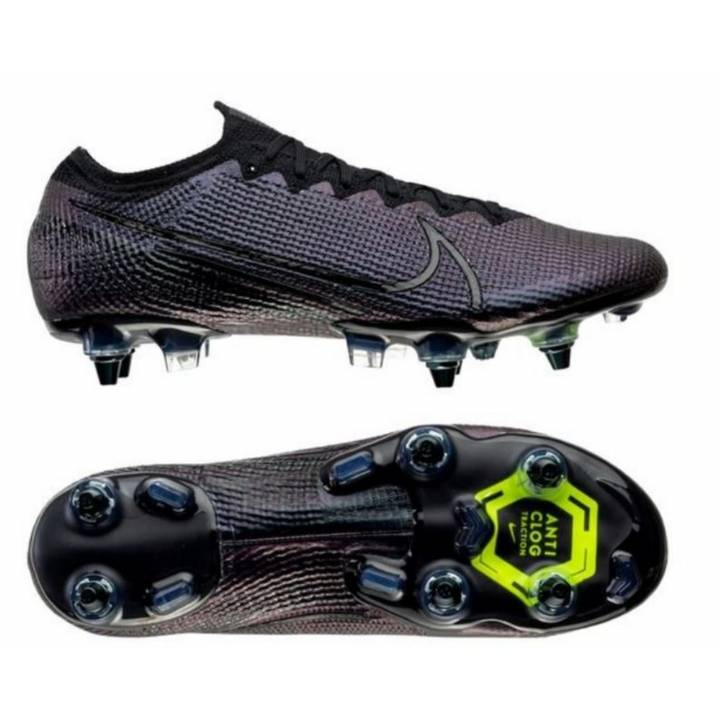 Nike Vapor 13 Elite Soft Ground Football Boots - Kinetic Black - Black Image