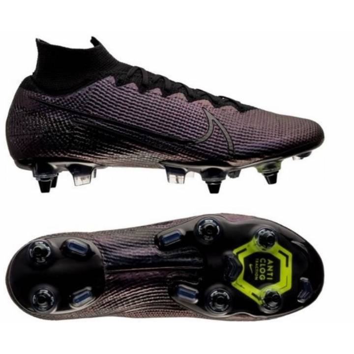 Nike Superfly 7 Elite Soft Ground Football Boots - Kinetic Black - Black Image