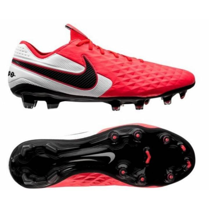 Nike Legend 8 Elite Firm Ground Football Boots - Laser Crimson/Black/White Image