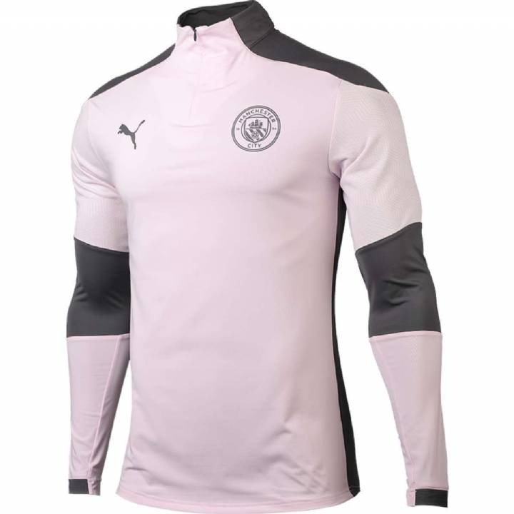 Puma Manchester City Training 1/4 Zip Top 202/21 - Mens Image